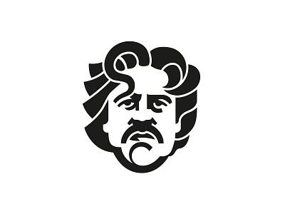 Damir Niksic sketch draw head portrait man illustration logo