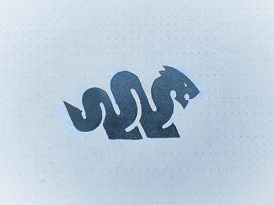 Dragon mythological geometric dragon animal symbol mark logo