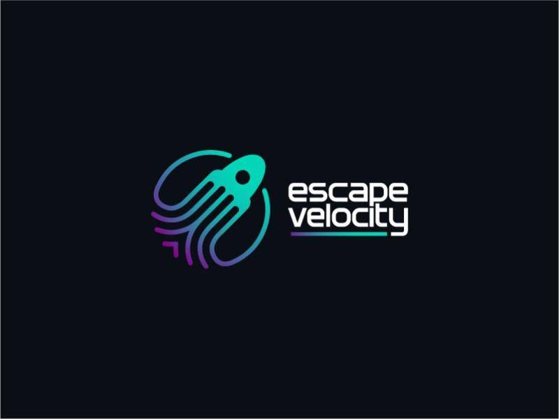 Escape Velocity escape velocity velocity speed spaceship space symbol icon logo