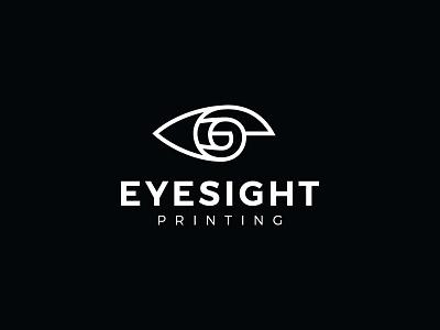 Eyesight Printing printing vision eyesight eye print paper symbol mark logo