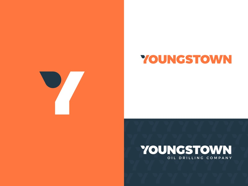 Youngstown brand brandidentity drilling monogram lettermark oil and gas oil identity branding mark symbol logo