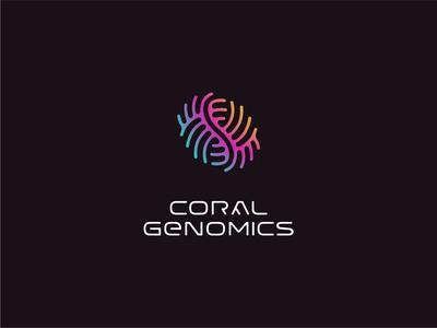 Custom logotype and mark for innovative biotech startup