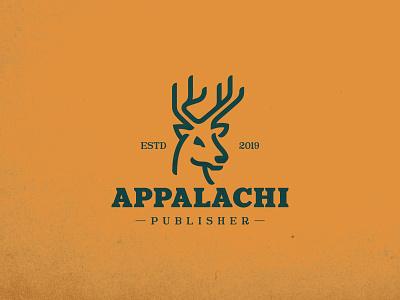 Appalachi mountain buck deer identity branding animal mark symbol logo