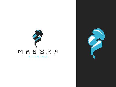 Massra Studios creation world planet conceptual art space alien identity branding mark symbol logo
