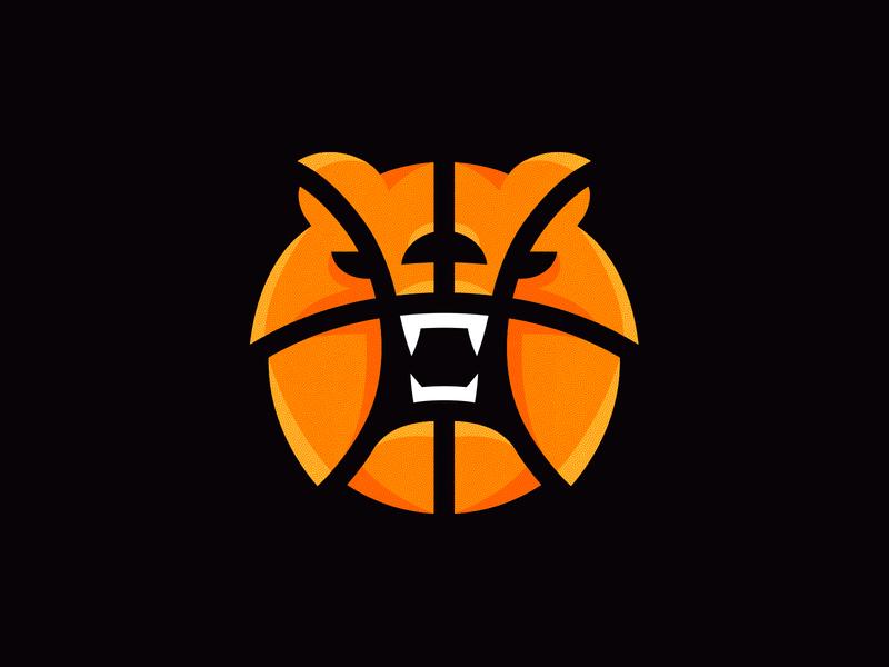 Medak 3 3x3 sport basket ball basketball bear animal identity branding mark symbol logo