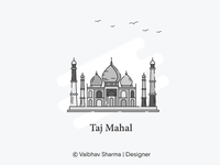 Taj Mahal : Wonders of the World