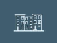 Townhouse illustration