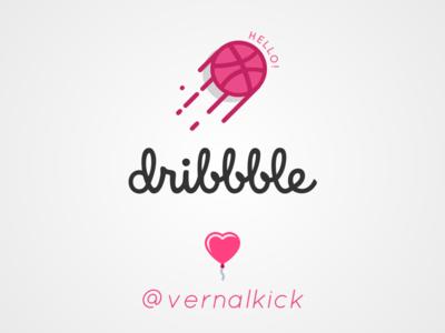 First Dribbbled Pixels  ux design thanks simple sleek firstshot