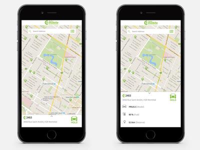 Auto Mobile - Mobile App mobile ui design ux
