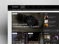 Broadside Magazine Homepage