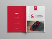 Tesla model s cover opened