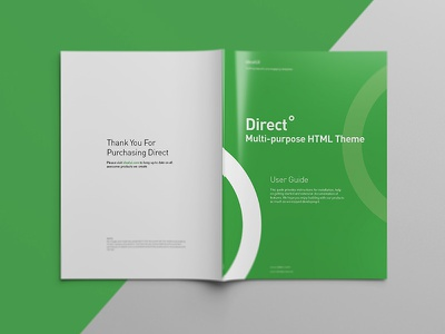 Direct / User Guide studiomst direct template instructions documentation user guide template direct