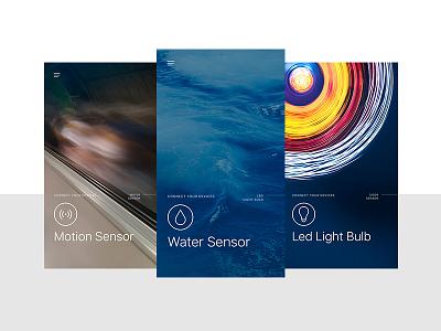 Smart Home product UI Exploration app mobile ui home smart