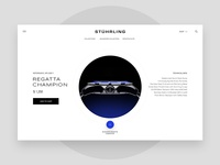 Stuhrling watch product page exploration