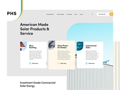 Power Home Solar mistyukevych powerhomesolar concept ui ux website branding solar energy
