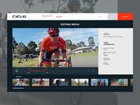 Bike Camera video editor