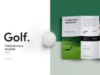 Golf trifold brochure 00