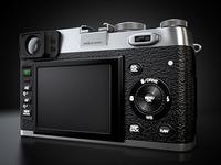Fujifilm FinePix X100 Rear View
