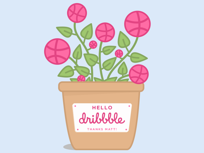 Hi there, Dribbble!