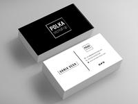 Polka Workshop Business Card