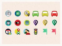 tracker icons