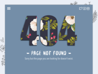 404 Error Daily UI #008