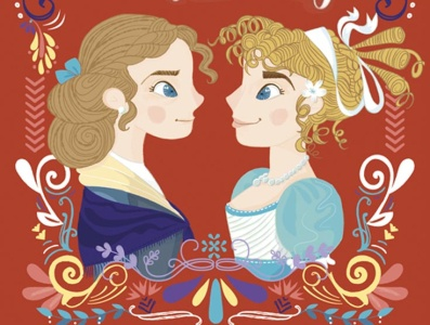 Jane Austen Sense and Sensibility Book Cover
