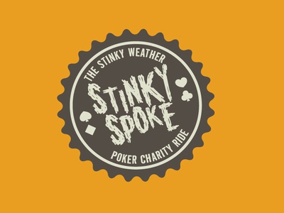 Stinky Spoke Logo Concept 2