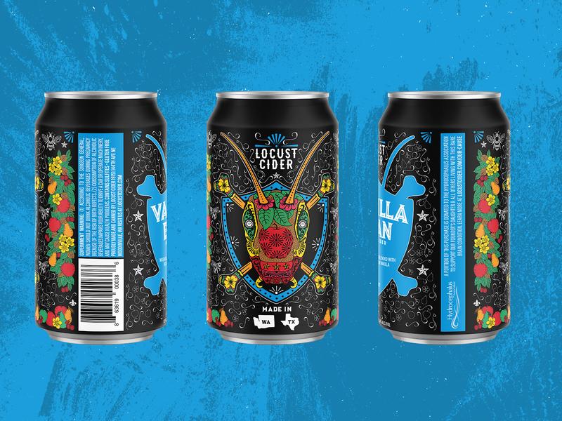 Locust Cider: Mural Can Release