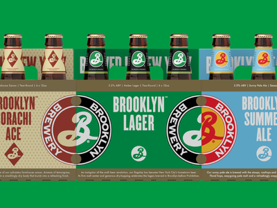 Brooklyn Brewery Packaging Refresh brooklyn brewery brooklyn beer packaging production design