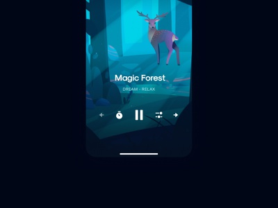 8D - Immersive Soundscapes soundscapes binaural app ios sleep meditate relax sounds ui
