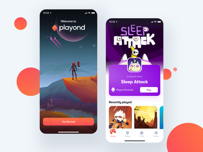 Introducing Playond console ux mobile uidesign bendingspoons ios ui app experiences gaming games game playond