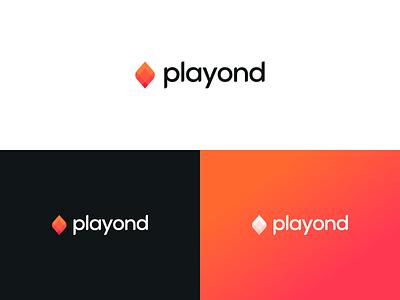 Playond - branding app gaming app ui identity brand branding logo games logo game art gaming games game