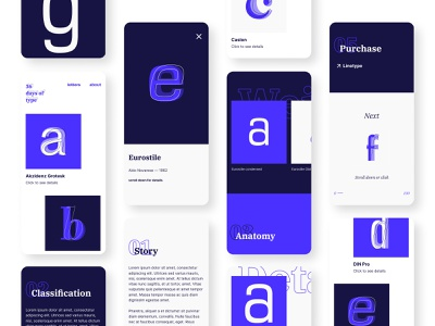 36 days of type — mobile layout web design webdesign website uxui ux design uxdesign ux  ui ux ui design ui  ux uidesign uiux ui interaction design interactive interaction interface 36 days of type lettering 36daysoftype07 36 days