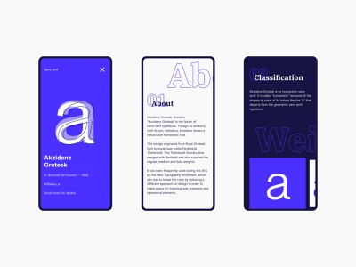 Letter page mobile akzidenz grotesk typeface typography typo type interface interactive design interaction design interaction website design web design webdesign website ui  ux uiux uidesign ui design ui