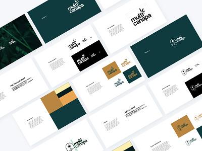 Branding proposal presentation gold green proposal hemp style guide styleguide mark visual identity branding design brand design brand identity branding brand logos logodesign logotype logo design logo
