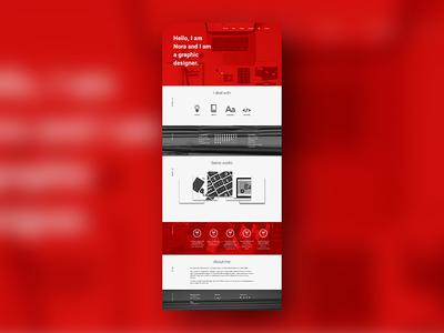 Personal website wip 02