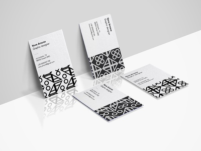 Personal business cards wip selfbranding branding logo layout business cards print typography