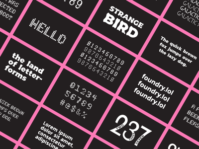 Type Specimens font design specimen type font typography