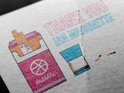 Thank You! vector illustration thank you thanks smoking cigarettes debut