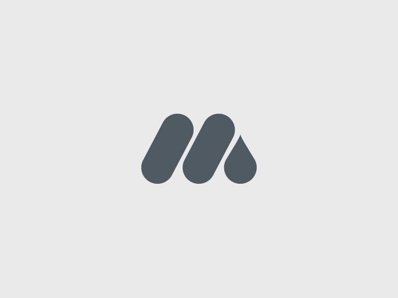 M Mark mark m logo design logo