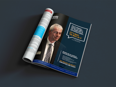 Print Ad for Fixed Ops Magazine