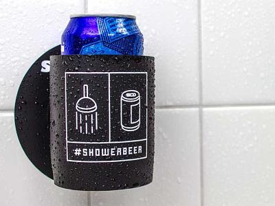 #SHOWERBEER shakoolie shower koozie icon beer