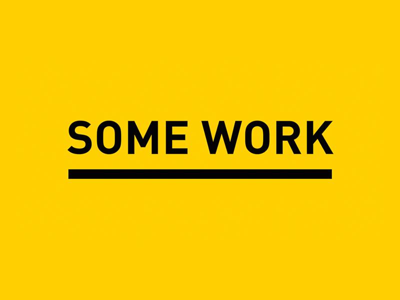 SOME WORK /// Video Portfolio slideshow portfolio showreel video