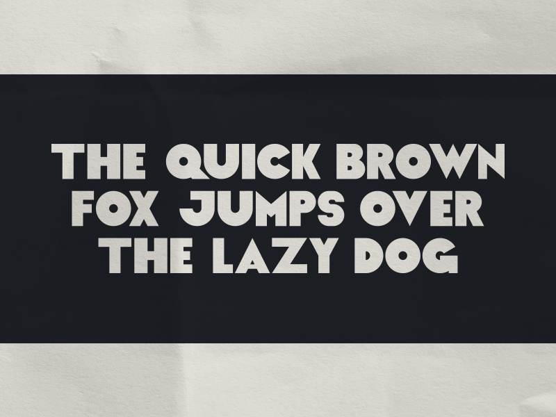 Font Idea (WIP) Part 2 vintage typography type thick retro font