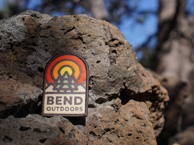 Patch Giveaway! nature outdoors oregon bend badge patch giveaway
