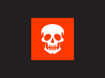 Skull halloween skull