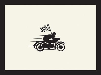 WIP Motorcycle Racer logo retro vintage racing motorcycle