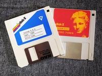 Floppy Disk Labels