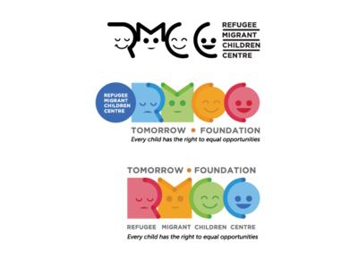 RMCC / Logo Concept nonprofit charity mark non-profit children logo identity fun clean brand